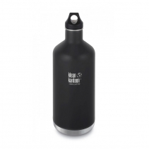 На изображении Термофляга Klean Kanteen Classic Vacuum Insulated Shale Black (matt) 1900 ml