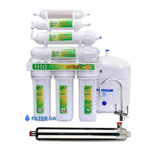 Фото 1 - На изображении Фильтр обратного осмоса Fito Filter RO 6 bio UF