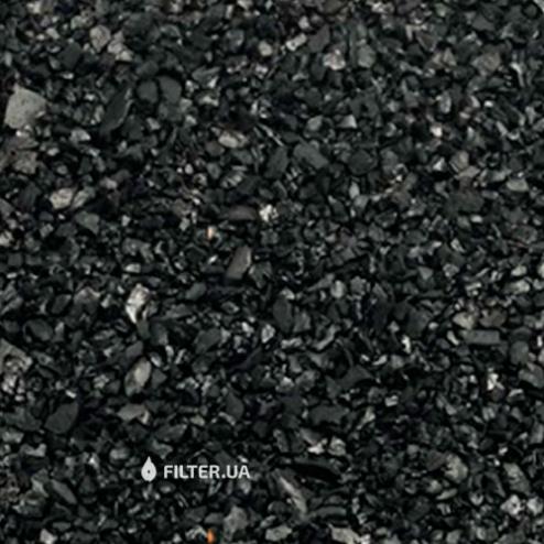 Фото 2 - На изображении Засыпка для удаления железа и сероводорода Centaur HSL 12X40, мешок 15 кг