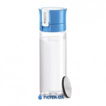 На изображении Фильтр-бутылка для воды Fill and Go Vital Blue