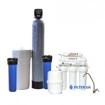 На изображении Готовое решение очистки воды из водопровода Filter 1 Standart