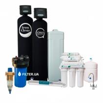 На изображении Готовое решение очистки воды из водопровода Ionix Premium
