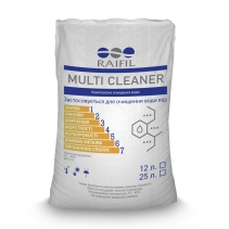 На изображении Комплексная загрузка Multi Cleaner Raifil, 12л