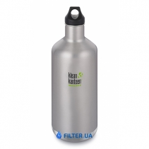На изображении Термофляга Klean Kanteen Classic Vacuum Insulated Brushed Stainless 1900 ml