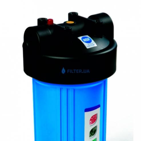 Фото 3 - На изображении Фильтр Raifil Big Blue 10 с обезжелезивающим картриджем