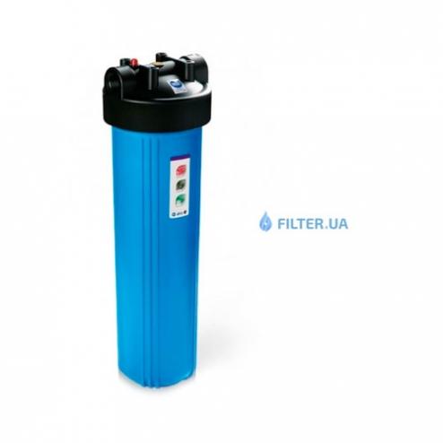 Фото 3 - На изображении Фильтр Raifil Big Blue 20 с обезжелезивающим картриджем