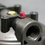 Фото 2 - На изображении Фильтр Raifil Big Blue 10 с механическим картриджем