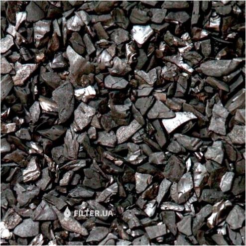 Фото 2 - На изображении Фильтрующая загрузка Silcarbon S835, уголь битуминозный