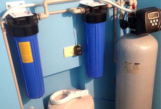 Обслуживание фильтра для бытовой воды FILTER.UA