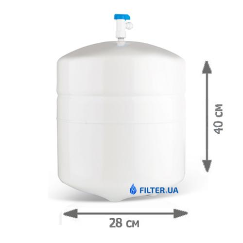 На изображении Фильтр обратного осмоса Наша Вода Absolute 6-50 M/UF P