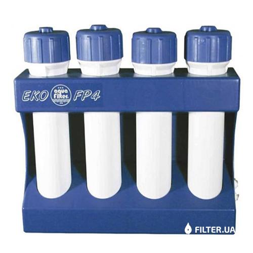 На изображении Проточный фильтр Aquafilter EKO FP-4