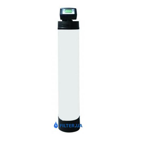 На изображении Угольный самопромывной фильтр Raifil AC/KDF-150B(T)+BNT1650