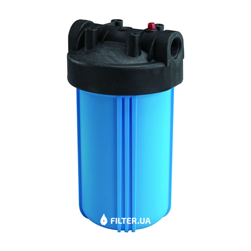 На изображении Фильтр Raifil Big Blue 10 с угольным картриджем