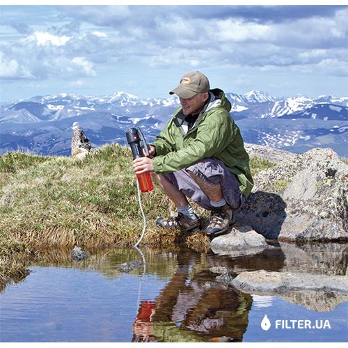 На изображении Туристический фильтр Katadyn Vario
