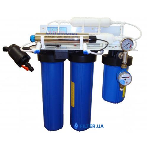 На изображении Система ультрафильтрации Evita Ecovita UV-480 без бака