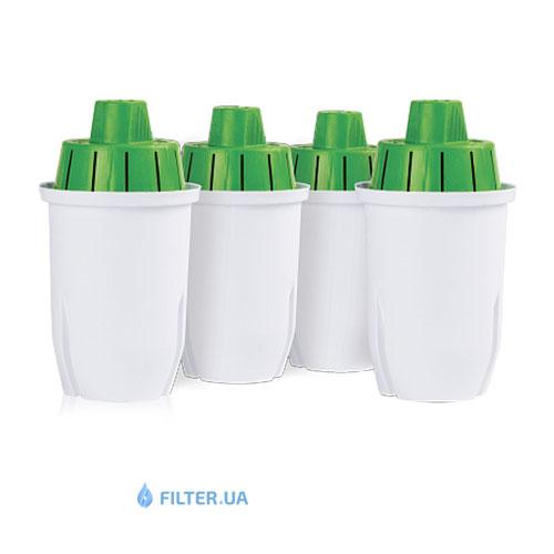 На изображении Комплект картриджей 3+1 для фильтра-кувшин Наша Вода