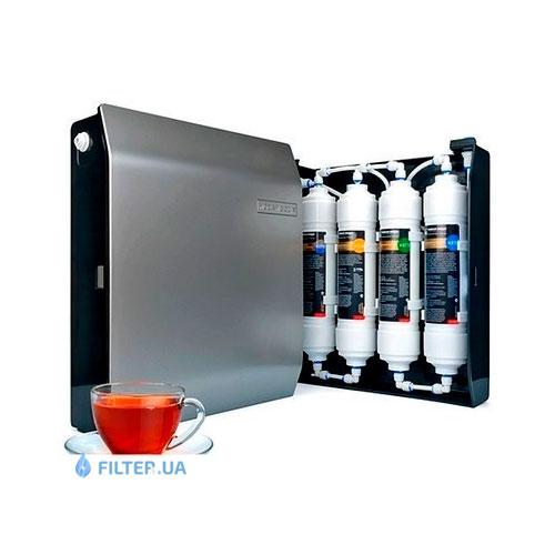 На изображении Проточный фильтр Новая Вода Expert M 410