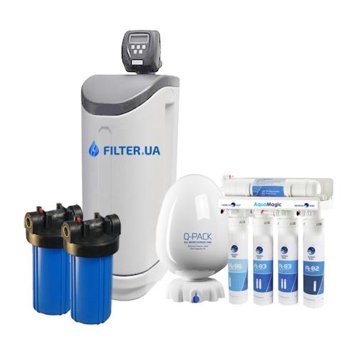 На изображении Готовое решение очистки воды из водопровода Filter Compact