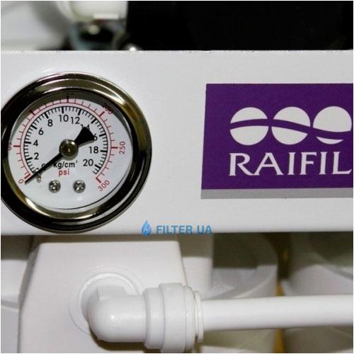 На изображении Фильтр обратного осмоса Raifil RO-288W-220-EZ без бака