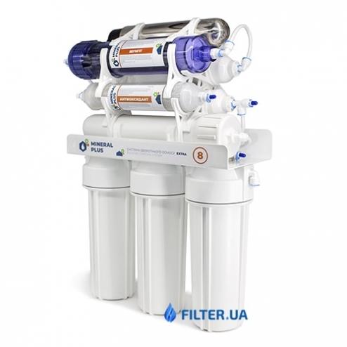 Фото 3 - На зображенні Фільтр зворотного осмосу Mineral Plus Extra 8 UF