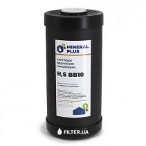 На зображенні Картридж для видалення сірководню Mineral plus BB10