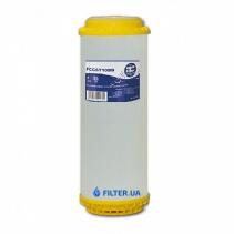 На зображенні Картридж з іонообмеінним гранулатом Aquafilter DIAION FCCST10BB