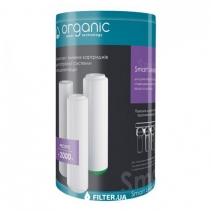На зображенні Комплект картриджів Organic Smart Trio Leader для проточних фільтрів