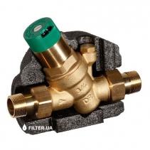 На зображенні Honeywell D05FT-1/2A редуктор тиску для гарячої води