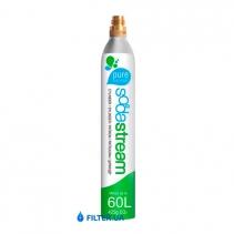 На зображенні Газовий балон (CO2) Sodastream