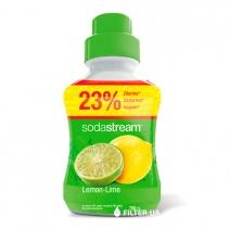 На зображенні Сироп Sodastream Lemon Lime 750 мл
