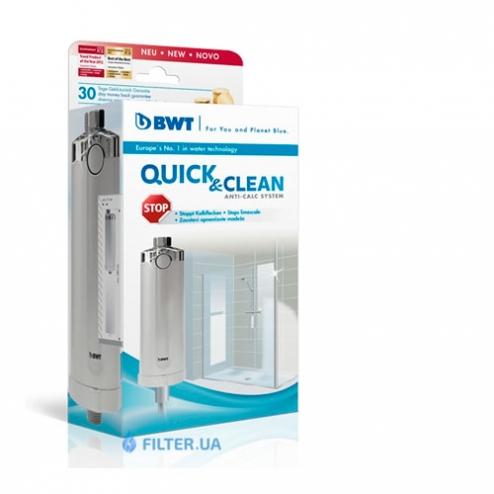 Фото 2 - На зображенні Фільтр для душу BWT Quick and Clean Anti-Calc System