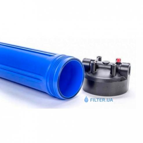 Фото 3 - На зображенні Фільтр Ecosoft Big Blue 20 з картриджем від сірководню