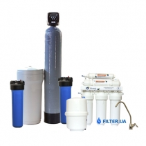 На зображенні Готове рішення очищення води з водопроводу Filter 1 Standart