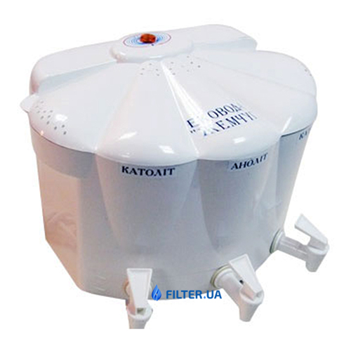 На зображенні Іонізатор води Ековод 6-Жемчуг (з блоком стабілізації)